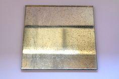 ヴィンテージワイヤーガラス_「Distressed Mirror Glass」