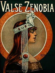 Valse Zenobia, Russel Smith, 1915 (Illustration by André C. Takacs)