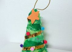 Make Christmas Tree - Christmas Tree Decorations from recycled materials. Simple for even toddlers to join in with the Christmas Craft Experience How To Make Christmas Tree, All Things Christmas, Christmas Tree Decorations, Christmas Crafts, Holiday Decor, Activities To Do, Growing Flowers, Recycled Materials, Toddlers