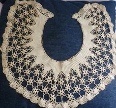 Vintage Lace / Crochet Collar in Clothes, Shoes & Accessories, Vintage Clothing & Accessories, Vintage Accessories | eBay