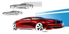 Mustang: Muscle cars Pt/1 on Behance