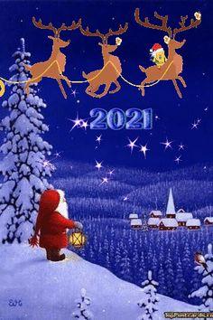 Merry Christmas Gif, Christmas Scenery, Christmas Post, Cozy Christmas, Christmas And New Year, All Things Christmas, Happy New Year Gif, Happy New Year Images, Happy New Year Greetings