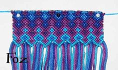 How to a macrame cell phone cover