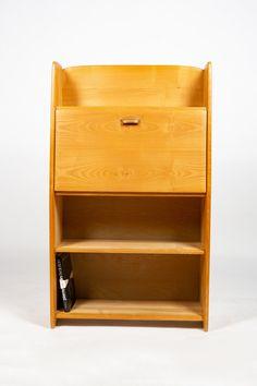For sale: Solid ash cabinet by Jacob Müller for Wohnhilfe, Vintage Furniture, Furniture Design, Contemporary Design, 1950s, Bookcase, Shelves, Cabinet, The Originals, Ash