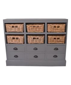 Another great find on #zulily! Gray Oneal Mahogany Sideboard #zulilyfinds