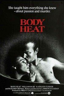 Corpos Ardentes (Body Heat) - Poster / Capa / Cartaz