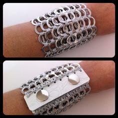 pop tab bracelet                                                                                                                                                                                 Más
