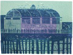 'Pierhead' (Brighton Series) by Robert Tavener