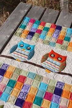Tamarack Shack: Whoo's Your Baby Quilt