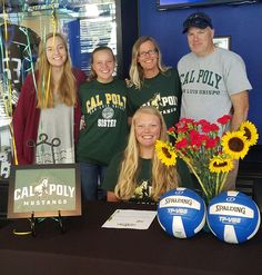 Girl's Volleyball: MVC's Sjea Anderson signs with Cal Poly for beach volleyball