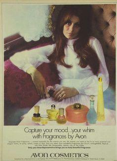 Avon Cosmetics Magazine Advertisement Ad February 1970 Vintage Retro