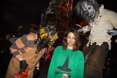 Just 15 Hilarious Photos Of Celebrities Getting Scared At Halloween Horror Nights