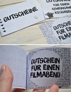 {DIY} Gutscheinbuch zum Valentinstag ©goodiys.com