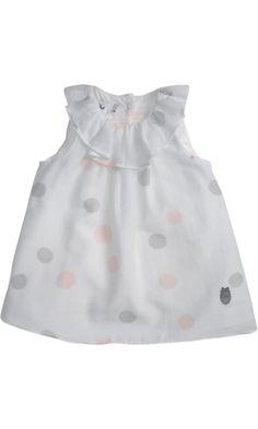 Baby Dior Polka Dot Dress