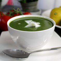 Creamy courgette and spinach soup - perfect! @allrecipesUK #MyAllrecipes #AllrecipesFaceless