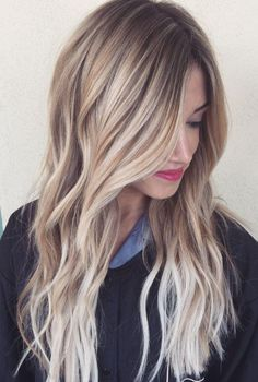 Dark Brown Balayage White Blonde Wavy Remy Human Hair Lace Wig