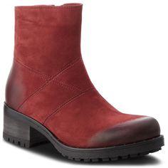 Botine R.POLAŃSKI - 0950 Bordo Nubuk Chelsea Boots, Fashion Shoes, Products, Felting, Women's, Paragraph, Gadget