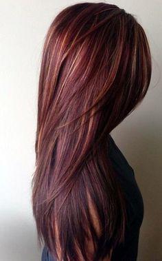 burgundy-hair-color-ideas-with-highlights-1