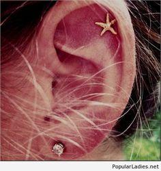Cool cartilage piercing