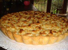 TARTA DE DULCE DE LECHE Y COCO Snack Recipes, Dessert Recipes, Cooking Recipes, Snacks, Desserts, Delicious Deserts, Bread Machine Recipes, International Recipes, Cakes And More