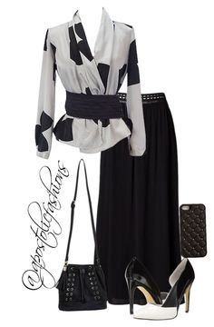 """Apostolic Fashions #1068"" by apostolicfashions ❤ liked on Polyvore featuring Emporio Armani, Michael Antonio, Miss Selfridge and 2Me Style"