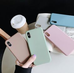 Soft TPU Simple Solid Color iPhone Phone Shell Thick Material is best and cool on Newchic. Cheap Phone Cases, Cute Phone Cases, Iphone Phone Cases, Plus 8, Iphone 8 Plus, Protective Cases, Apple Iphone, Color, Shell