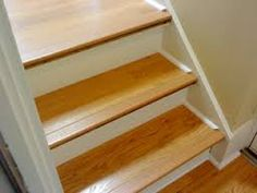 image result for laminate on stairs nosing