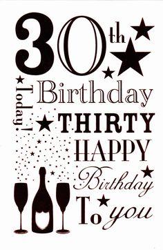 happy-birthday-card-happy-30th-birthday-foil-card.jpg (977×1500)