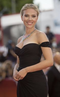 Scarlett Johansson. It's like sickening by how pretty she is!!