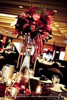 Dramatic Centerpieces : All the Style Details : Forums : Brides