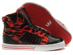 https://www.procurry.com/supra-skytop-high-womens-black-red-white.html SUPRA SKYTOP HIGH WOMENS BLACK RED WHITE Only $73.00 , Free Shipping!