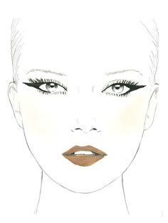 The Signature Cat Eye Look: Available in the Makeup Genius App Lip Makeup, Beauty Makeup, Beauty Tips, Beauty Hacks, Hair Beauty, Lots Of Makeup, Crazy Makeup, Makeup Looks, Fashion Illustration Tutorial
