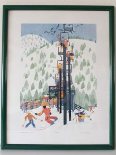 Ptarmigan Lift 1989 by RIE MUNOZ / Mint Rare / Signed & by POTUKS