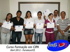 Turma do curso Formação em CIPA  em Abril/2012