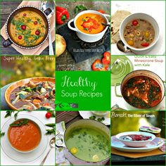 My Favorite Healthy Soups, Nutrient Dense, Easy, Made with Whole Fresh Foods from Spinach Tiger.