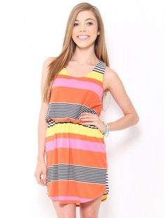 Knit Striped Dress #SFLsummerstyle