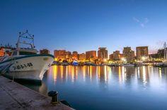 Calpe port by night by Christian Merk on 500px