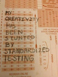 Has standardized testing become obsolete?