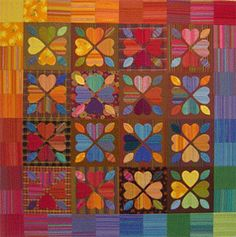 Have a Heart Quilt | FaveQuilts.com