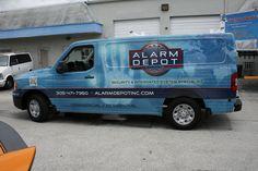 Tikiz Shaved Ice Mobile Food Truck Vinyl Wrap Fort