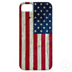 Cool Distressed American Flag Wood Rustic iPhone 5 Cover.  $40.90