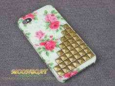 rose and stud iphone case