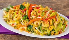 Noodles Recipes Vermicelli Rice Noodles Recipe Main Dishes with rice vermicelli, vegetable oil, … Vermicelli Rice Noodle Recipe, Rice Noodle Recipes, Rice Noodles, Indian Food Recipes, Asian Recipes, Indian Foods, Thai Recipes, Delicious Recipes, Yummy Food