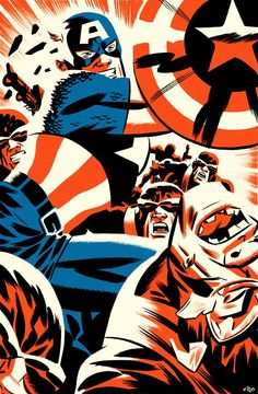 Captain America by Michael Cho