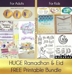 Ultimate List of FREE Eid Printables | AYEINA