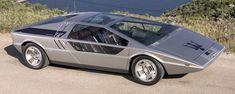 The Boomerang is a functional time machine to the 1973 Geneva Motor Show Maserati 3200 Gt, Maserati Bora, Classic Sports Cars, Classic Cars, Fiat Panda, Maserati Quattroporte, Monte Carlo, Aston Martin, Designer Automobile