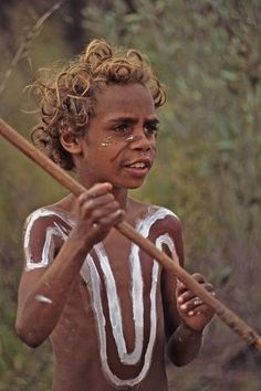 Indigenous child of Australia