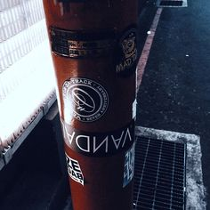 摧毀世界人人有責 #VAИDAL #logo #你他媽給我笑喔 #WTTRW #thehead #black #death #thisishell #stickers #taiwan #street #wall #用貼紙摧毀世界 #StickersDestroy  摧毀世界的工具 https://goo.gl/VCOZxU