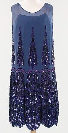 Evening dress Anne & Thérèse (French) Date: ca. 1925 Culture: French Medium: silk. Front