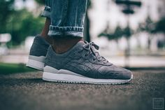 Asics Gel-Lyte III - Aluminium / Aluminium | Herren | Sneaker | Save Our Sole